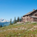 Granite Park Chalet.- Glacier National Park