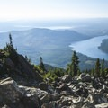Mount Ellinor Trail: View south toward Lake Cushman and the Hood Canal.- 20 Incredible Adventures on the Olympic Peninsula