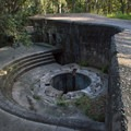 A large artillery gun once sat here to defend Fort Fremont- 3-Days of Exploring South Carolina's Coast