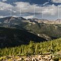 View north to the Mummy Range in Rocky Mountain National Park.- Wander Among Wilderness Areas