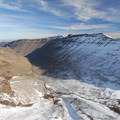 Kiger Gorge, Steens Mountain.- Winter Road Trips to Top Your To-Do List