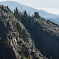 Mountain goats (Oreamnos americanus) on the south face of Mount Ellinor.- 35 Summit Views Worth Hiking For