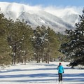 Cross-country skiing at the Arizona Nordic Village.- 10 Must-do Adventures near Flagstaff, Arizona