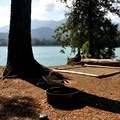 Backcountry campsite at Anderson Point on Baker Lake.- 70 Breathtaking Backcountry Campsites