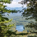 View from Vogel Overlook on the Bear Hair Gap Trail.- 3 Days of Adventure in Chattahoochee National Forest