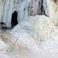 Winter at Minnehaha Falls, Minneopolis.- 52 Week Adventure Challenge: Frozen Water