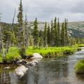 South St. Vrain Creek just east of Long Lake.- Epic Adventures in Colorado's Indian Peaks Wilderness