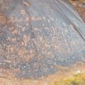 Newspaper Rock is the most famous petroglyph panel at Indian Creek, but there are many others.- Must-See History: Petroglyphs, Pictographs, Ruins + Ancient Artifacts