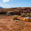 There are many good spots for dispersed camping at Indian Creek in Utah.- Dispersed Camping on Public Lands
