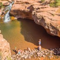 This is a popular spot for locals and tourists alike.- Sex, Drugs, and Swimming Holes