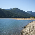 Lake Cushman from Skokomish Park North Camp.- A Complete Guide to Camping in Olympic National Park