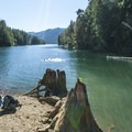 Big Creek Inlet on Lake Cushman.- A Complete Guide to Camping Near Seattle