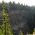 Sand Creek Canyon across from Lost Creek Campground.- Camping Near Crater Lake National Park