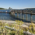 Boat dock and fishing pier at Fort Flagler State Park.- State Parks You Can't Miss