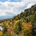 It took a total of 52 years to complete the 452 miles of the Blue Ridge Parkway, including the Linn Cove Viaduct seen here. - 15 Must-Do Adventures Along The Blue Ridge Parkway