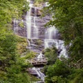 Take the stairs up the tallest waterfall in Georgia at Amicalola State Park.- East Coast State Parks that Will Blow Your Mind