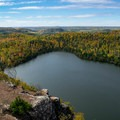 Bean Lake Overlook, Tettegouche State Park.- Road Trip Along the North Shore of Lake Superior