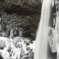 Outlet Falls from the base.- Washington's Best Winter Waterfalls