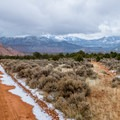 Beef Basin Road climbs into the spectacular high country.- Bears Ears National Monument