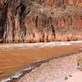 Fishing below Granite Rapid in Grand Canyon National Park.- 100 Incredible Adventures in Our National Parks