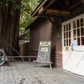 Big Basin Redwoods State Park Park Museum, at park headquarters. - Big Basin Redwoods State Park