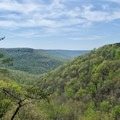 Fantastic views along the Fiery Gizzard Trail.- 10 Must-Do Hikes Near Nashville, Tennessee