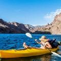 Kayaking the Colorado River near Las Vegas.- Best U.S. Desert, Mountain, and Beach Towns