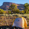 Campsites at Indian Creek are numerous, gorgeous, and require only a small fee.- Bears Ears National Monument