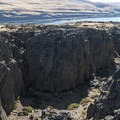 Rock climbers at Horsethief Butte.- Oil trains are risking it all in the Columbia River Gorge