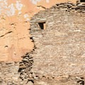 Wall of Hungo Pavi ruin in Chaco Canyon.- Exploring the Puebloan Ruins and Rock Art of Northern New Mexico
