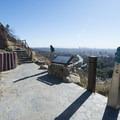 Mulholland Drive, Jerome Daniel Overlook.- Best Vistas for Fireworks: Los Angeles, CA