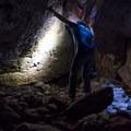 The Bear Gulch Caves in Pinnacles National Park.- Bear Gulch Caves