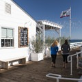 Malibu Farm Restaurant and Cafe at Malibu Pier.- Best of Malibu: Beaches, Camping, Parks and Trails