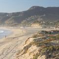 Zuma Beach backed by the Santa Monica Mountains.- California's Best Beaches
