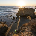 Sunset at El Matador State Beach.- 10 Reasons to Adventure in Southern California in the Winter