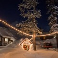 Clair Tappaan Lodge with plenty of snow in the area.- 10 Bucket List Lodges Perfect for Winter