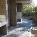 Restroom and shower facilities at Leo Carrillo State Park Campground.- Best of Malibu: Beaches, Camping, Parks and Trails