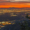Stunning sunsets are very common in northern Utah.- Best Vistas for Fireworks: Salt Lake City, UT