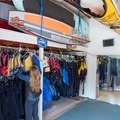 Kayak Connection in Santa Cruz offers friendly service, reasonable prices, convenient put-in, and a good selection of serviceable gear.- Adventurer's Guide to Santa Cruz