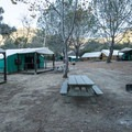 Hermit Gulch Campground.- 30 Campgrounds Perfect for West Coast Winter Camping
