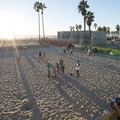 Outdoor gym at Venice Beach.- Surfer's Guide to LA