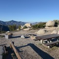 Typical campsite at Chilao Campground, Manzanita Loop.- Exploring the Angeles Crest Highway: A Complete Weekend Itinerary