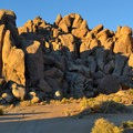 Sun on the boulders of Alabama Hills.- Bureau of Land Management