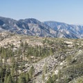 View southwest toward Strawberry Peak (6,164 ft) from the Silver Moccasin Trail.- Exploring the Angeles Crest Highway: A Complete Weekend Itinerary