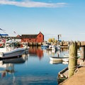 Explore the quirky and quaint Bearskin Neck in Rockport.- Incredible Coastal Adventures in Massachusetts