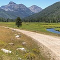 Christmas Meadows, closer to the Wyoming side.- Mirror Lake Scenic Highway