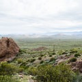 Treasure Loop Trailhead vista.- Superstition Mountain Hikes You Won't Want to Miss