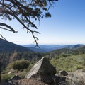View of San Gabriel Canyon from Deer Flat Group Campground.- Where to Camp in California's San Gabriel Mountains