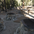 Typical campsite at Deer Flat Group Campground.- A Guide to Camping Near L.A.