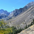 Big Pine Creek's South Fork Canyon stems off from the the North Fork Trail.- California's Best Backpacking Trips